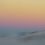 Fog at Sunset by Daniel Raskin Photography